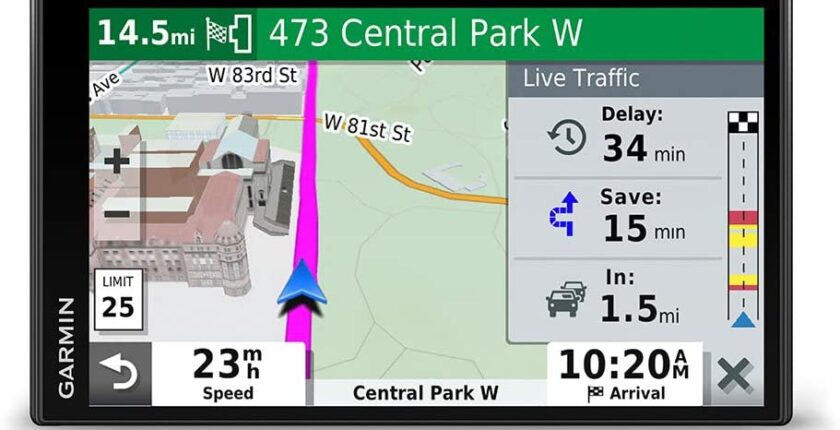 Garmin Drivesmart 65 with Traffic